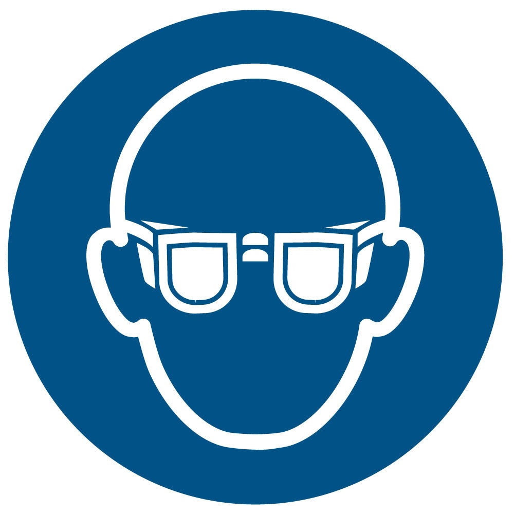 Safety Glasses Required Floor Symbol Flexmation Inc