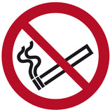 """No Smoking"" Floor Safety Symbol"