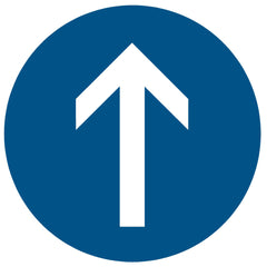 Directional Traffic Arrow Floor Symbol