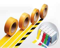 Production Floor Marking Roll; LongLife; 50 mm x 50 M; select color