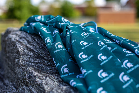 Officially Licensed Michigan State University Georgette Hijab