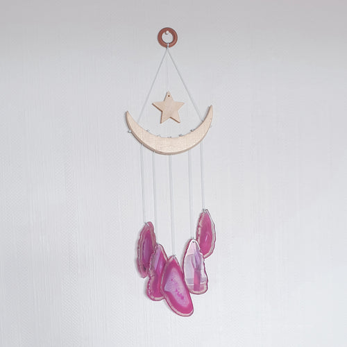 PRE-ORDER : Pink | Crystal Windchime | Love, Maddy