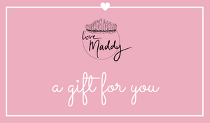 Gift Cards | Love, Maddy