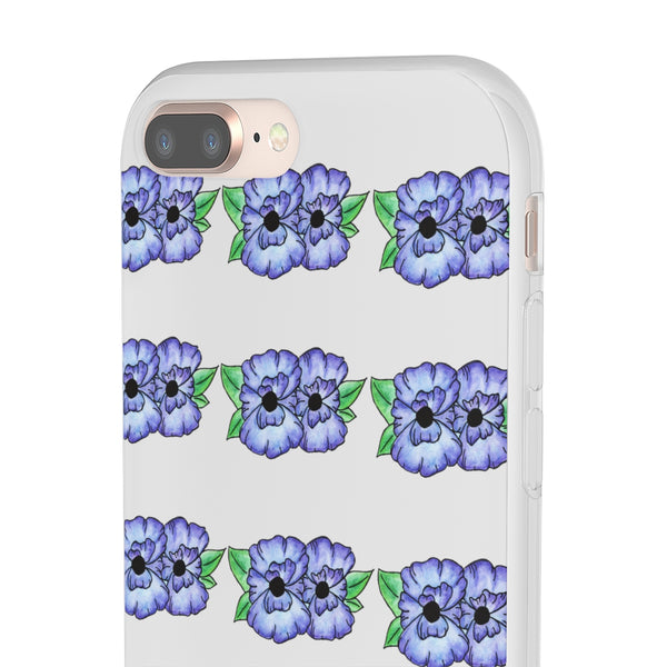 Blue Buds IPhone Flexi Case