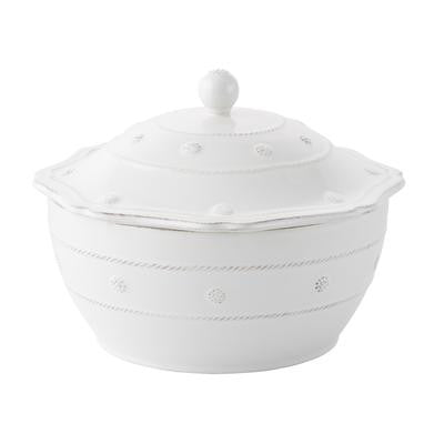 Berry and Theread  Round  Whitewash Collection - Serveware
