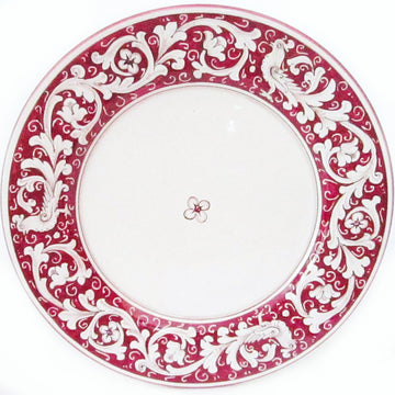 Antica Deruta Red Dinnerware
