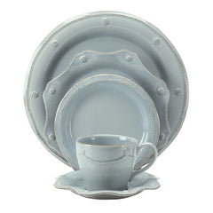 Dinnerware - Berry and Threath Round & Scallop Collection - Iceblue