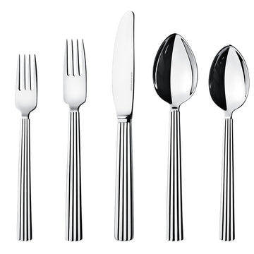 BERNADOTTE 5 PIECE PLACE SETTING BY GEORG JENSEN