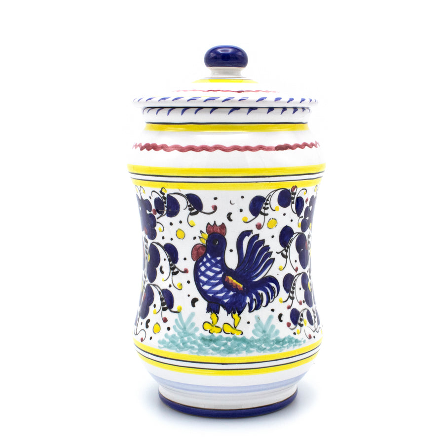 Gallo Rooster Blue  - Handmade in Italy
