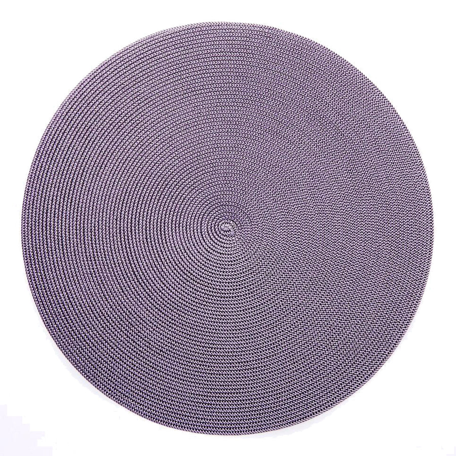 ROUND BRAIDED PLACEMAT - SET OF 4