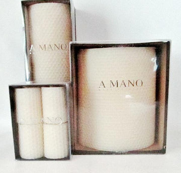 A Mano Beeswax Candles - Votives Pack