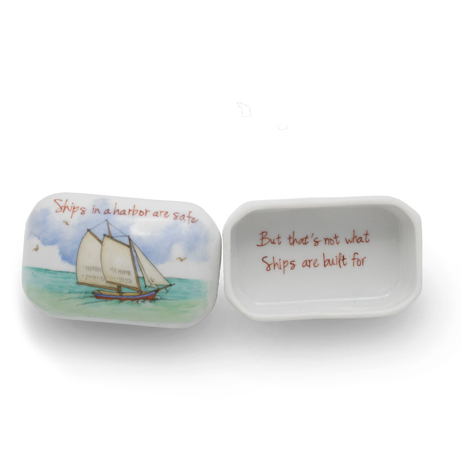 Sailboat Trinket Box - By Ann Marie Murray