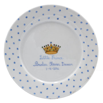 Kids 3-Piece Dish Set Blue - by Ann Marie Murray