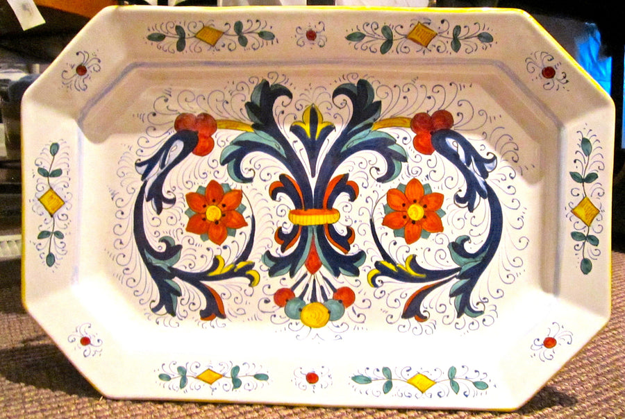 Deruta Rectangular Serving  16