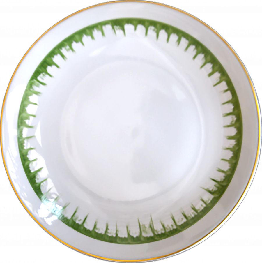 Limoges Porcelain by Marie Daage - Rafia & Ruban Collection