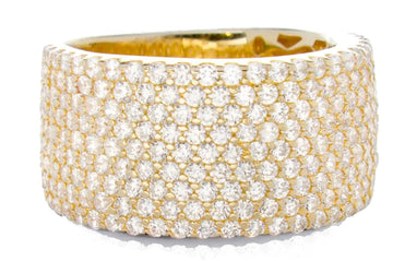 Wide Band Ring - Gold