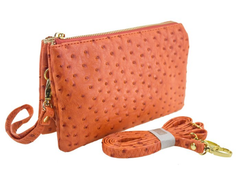 Faux Ostrich Cross Body Bag (Multiple Color Options) - NOW