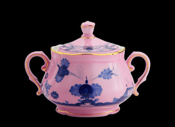 ORIENTE ITALIANO AZALEA SUGAR POT BY RICHARD GINORI