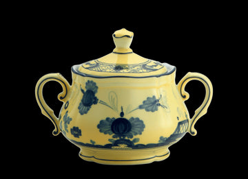 ORIENTE ITALIANO CITRINO SUGAR POT BY RICHARD GINORI