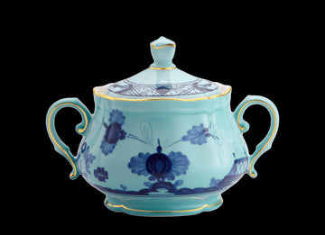 ORIENTE ITALIANO IRIS SUGAR POT BY RICHARD GINORI