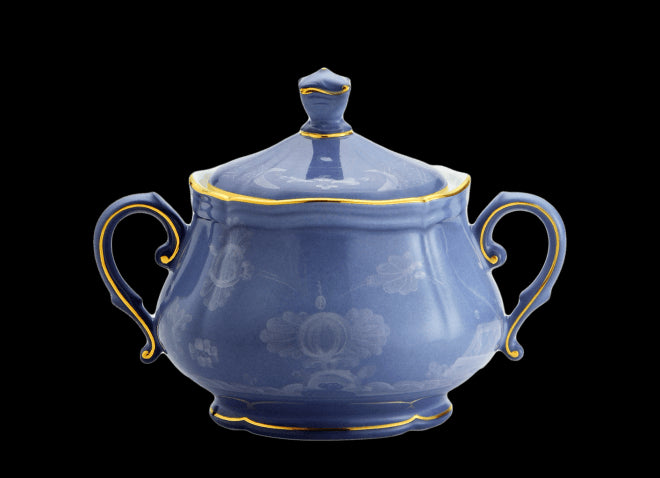 ORIENTE ITALIANO PERVINCA SUGAR POT BY RICHARD GINORI