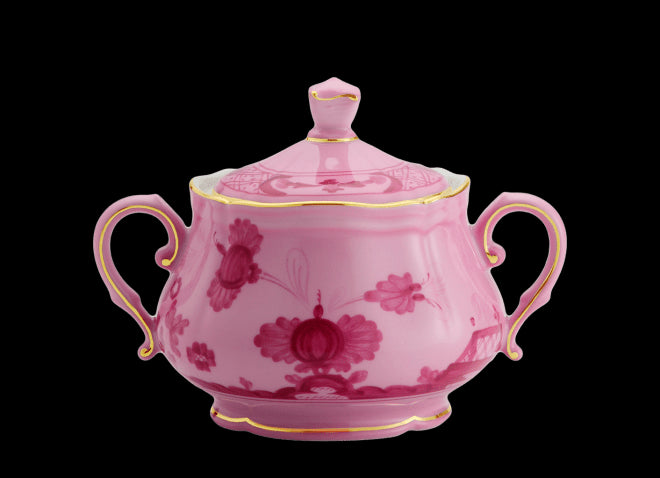 ORIENTE ITALIANO PORPORA SUGAR POT BY RICHARD GINORI