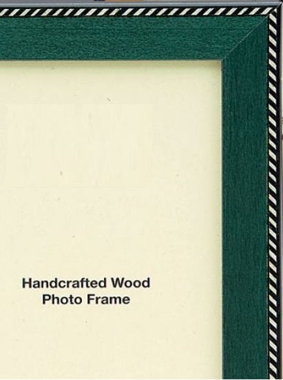 Italian Wood Handcrafted Picture Frame - (Multiple Color & Sizes)