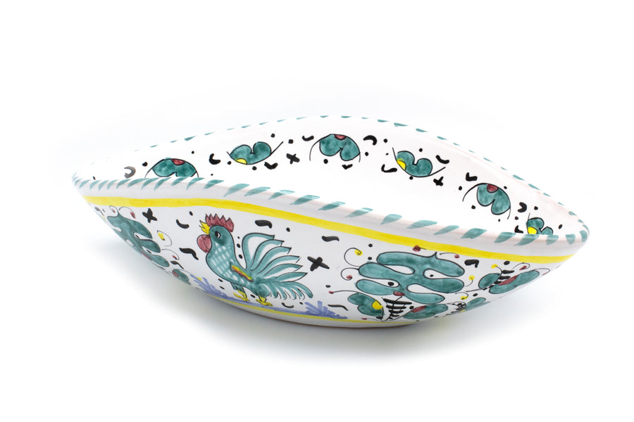 Gallo Rooster Green Dinnerware