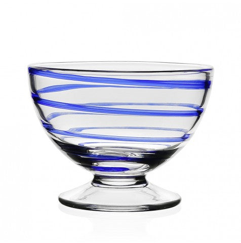 BELLA BLUE NUT BOWL BY WILLIAM YEOWARD