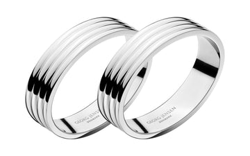 GEORG JENSEN Bernadotte Napkin Ring (Set of 2)