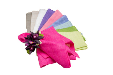 Pleated Linen Napkins