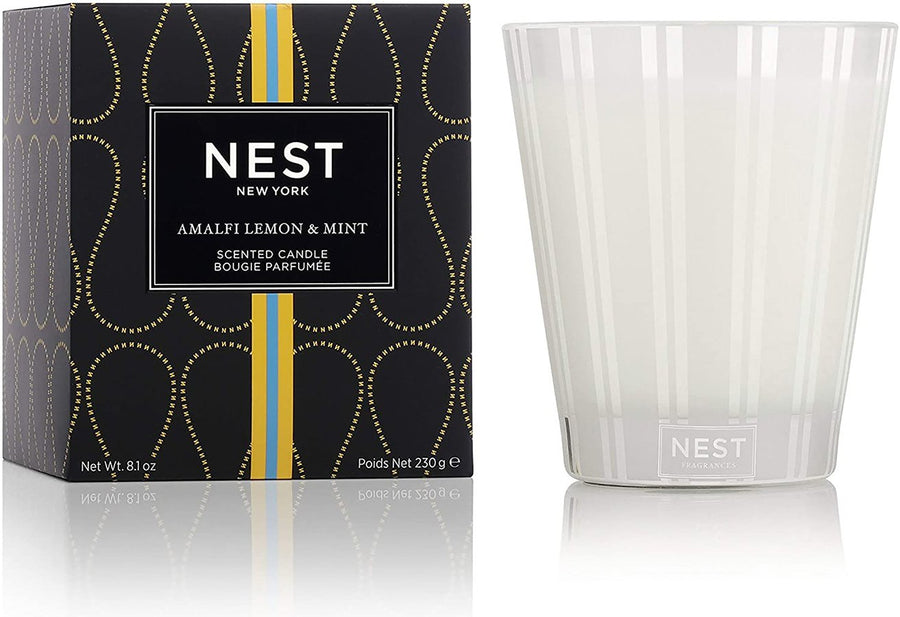 Amalfi Lemon & Mint Candle 8.1oz