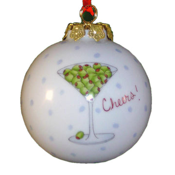 Martini Ornament