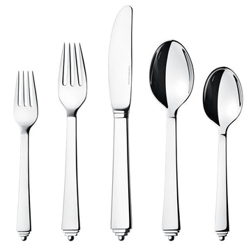 PYRAMID 5 PIECE PLACE SETTING BY GEORG JENSEN