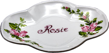 Personalized Porcelain Soap Dish