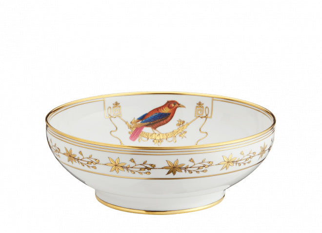 VOLIÈRE SALAD BOWL BY RICHARD GINORI