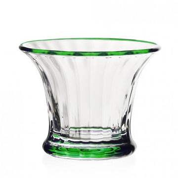 SIENA SORBET GREEN MINI VASE BY WILLIAM YEOWARD