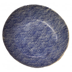 "Serving Bowl 12"" - Braid Cobalt"