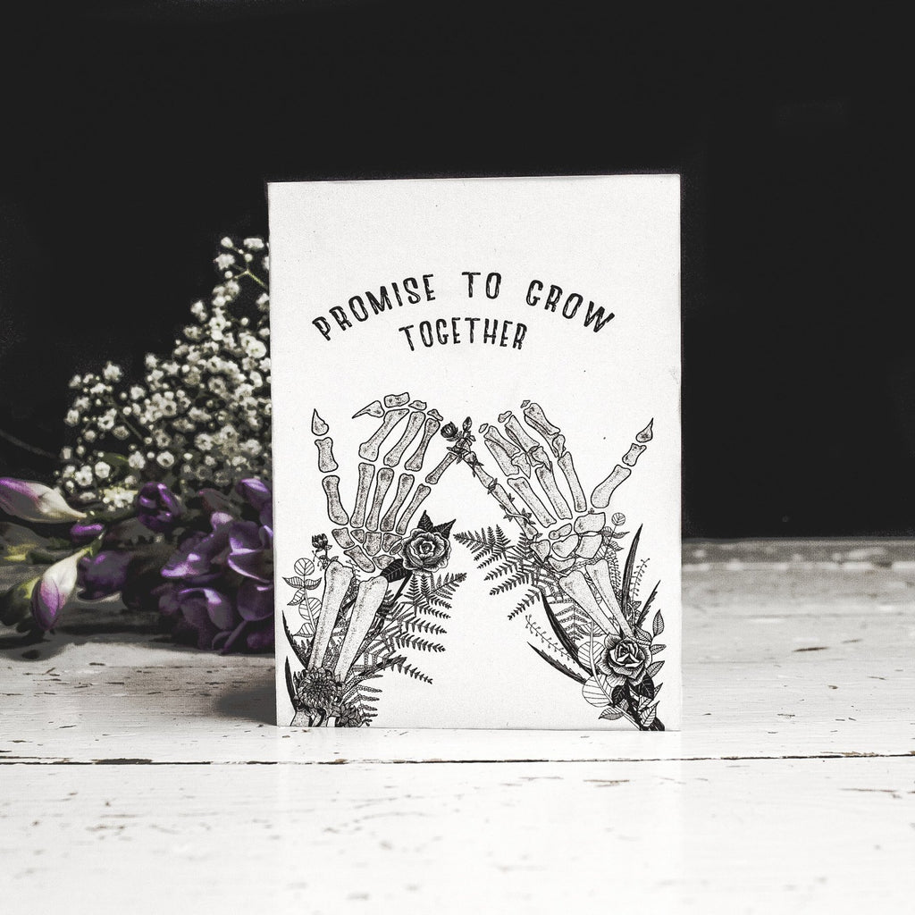 Grow Together Romantic Card