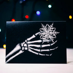 Set of 7 Black Alternative Christmas Cards