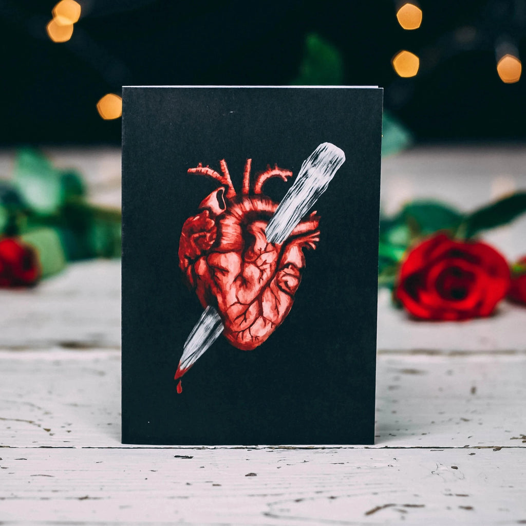 Stake In Heart Alternative Valentines Card