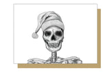 Skull Santa Alternative Christmas Card