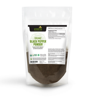 Organic Black Pepper Powder