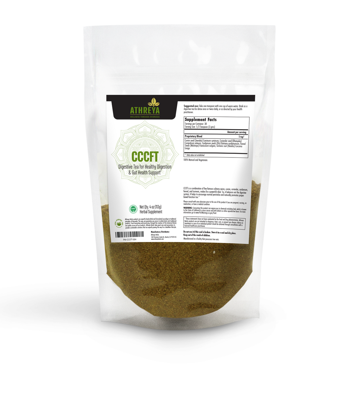 Healthy Digestion Tea Powder (CCCFT)