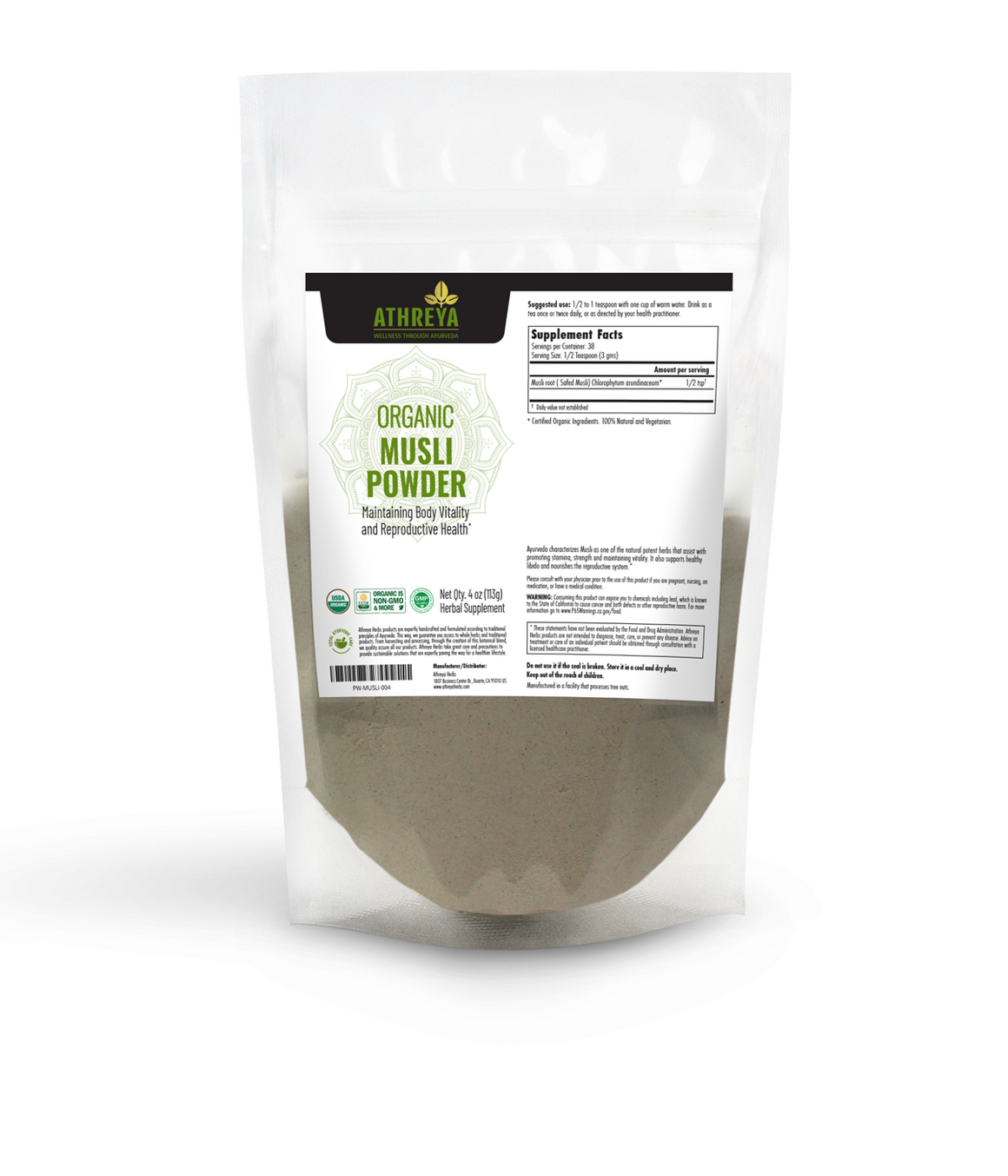 Organic Safed Musli Powder