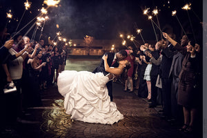 36 Inch Wedding Sparklers are Precisely What Your Event is Missing