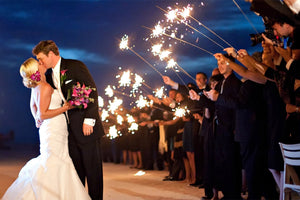 Make Any Photo Op Better with 36 Inch Sparklers for Weddings