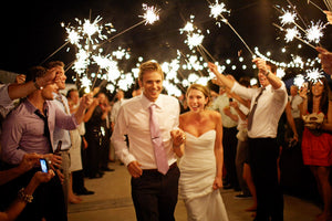 Light Up your World with 36 Inch Sparklers for Weddings