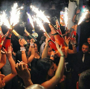 VIP Sparklers: Best Nightclub Night