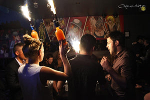 Liquor Bottle Sparklers